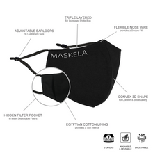 Load image into Gallery viewer, Holly Mask - Maskela Reusable Fashionable Face Masks