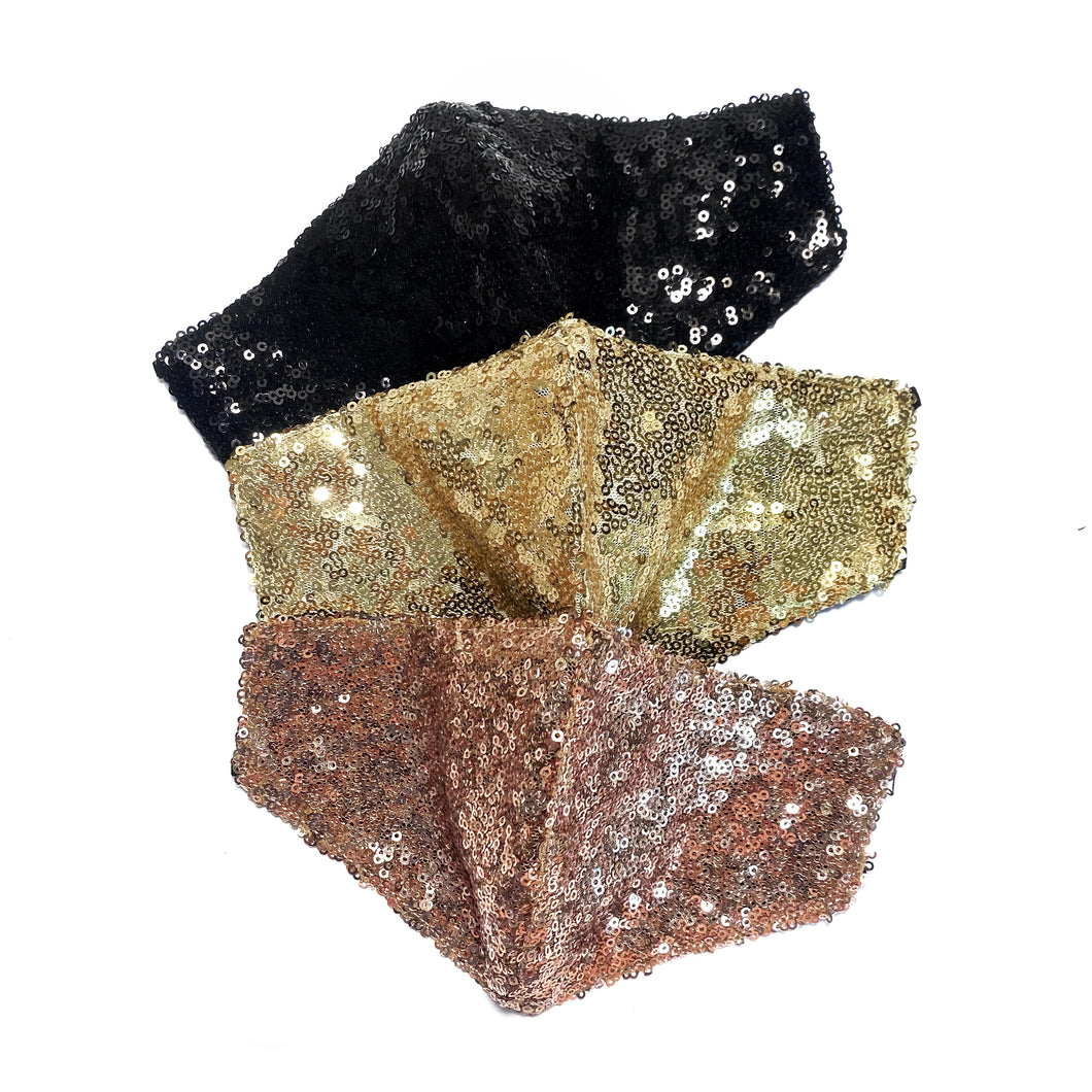Sequin Bundle - Maskela Reusable Fashionable Face Masks