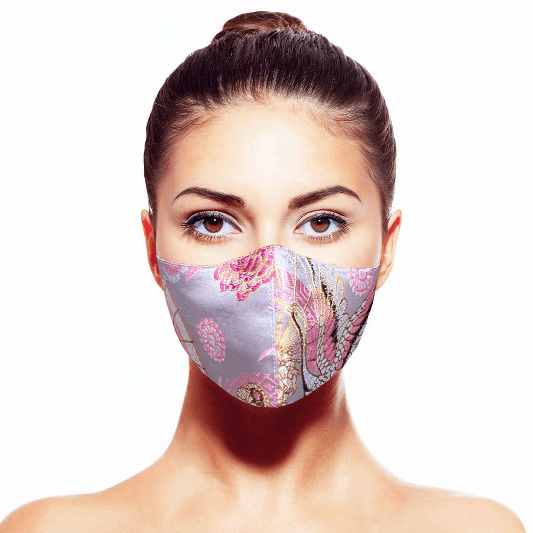 Tancho Mask - Pink - Maskela Reusable Fashionable Face Masks