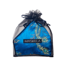 Load image into Gallery viewer, Empress Mask - Turquoise - Maskela Reusable Fashionable Face Masks