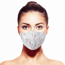 Load image into Gallery viewer, Illusion Mask by Carol Chen - Maskela Reusable Fashionable Face Masks