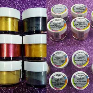 Colorant alimentaire poudre (the edible silk range)