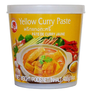 PÂTE DE CURRY JAUNE - COCK 400G