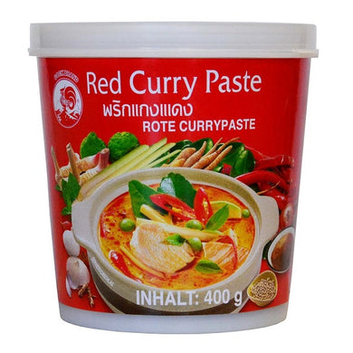 PÂTE DE CURRY ROUGE - COCK 400G