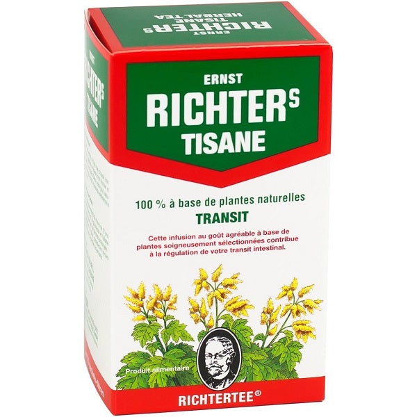 Tisane Richters -40 g- Transit - 20 sachets
