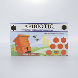 Apibiotic 20 ampollas