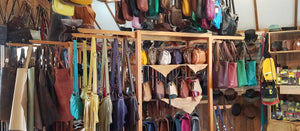 Leather Purses & Handbags