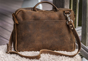 courier brown front
