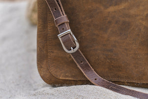 Large journey distressed strap detail