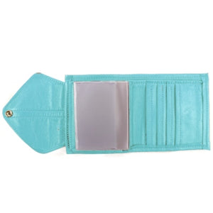 Ladies Bi-Fold Leather Clutch Wallet