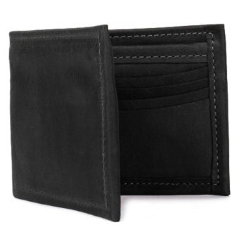 Deluxe Bi-Fold Leather Wallet