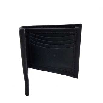 Window ID Bi Fold Leather Wallet