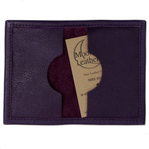 Cardholder Folded Open