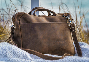 courier brown front seagrass