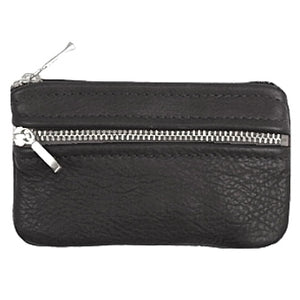 Coin Pouch 7-inch Double Zipper