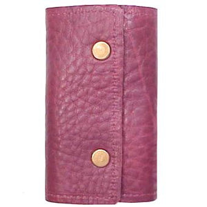 Key Case Burgundy Vertical