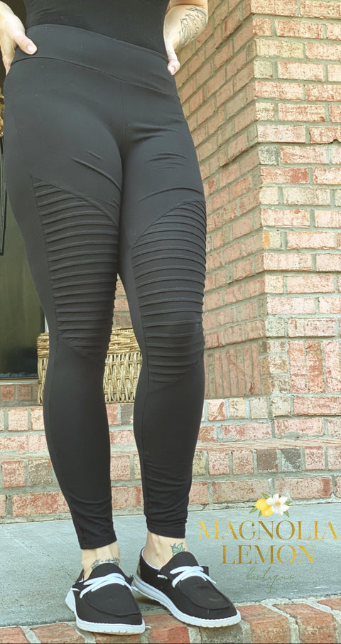 Hello Moto Leggings