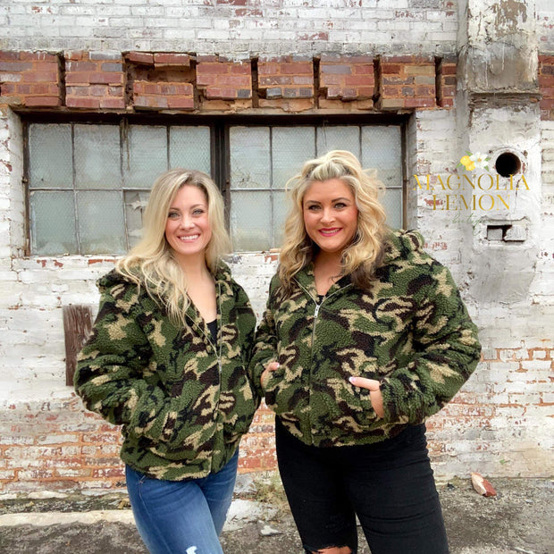 Camo Comfort Cold Weather Jacket