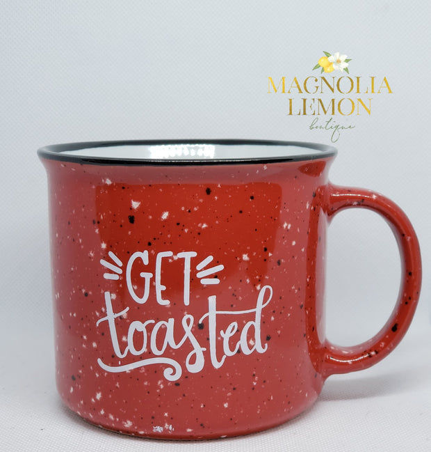 Get Toasted Holiday Mug