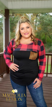 Buffalo Plaid (Red/Black)