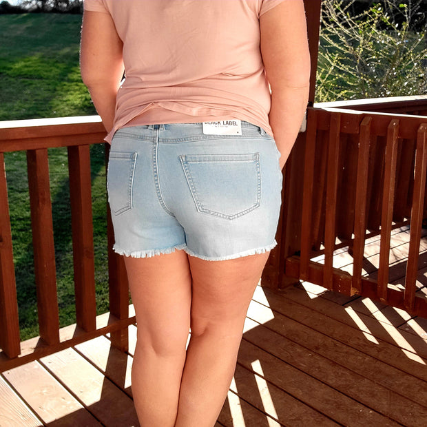 Tied to Perfection Denim Shorts