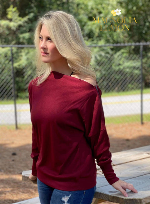 Wonderfully Wine Long Sleeve