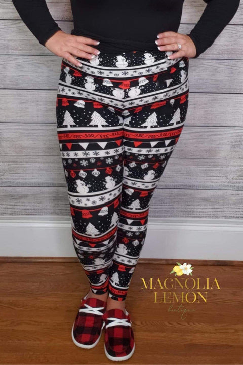 Snow Bell Butter Leggings