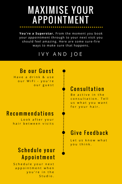 Maximise your appointment infographic