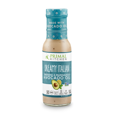 PRIMAL KITCHEN  - CREAMY ITALIAN DRESSING - 237ML (4610728689715)