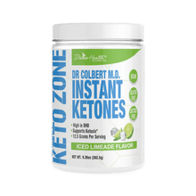 Load image into Gallery viewer, KETO ZONE - INSTANT KETONES - ICED LIMEADE - 265.5G (4604551462963)