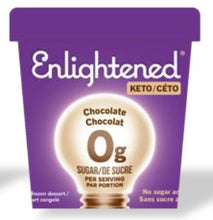 Load image into Gallery viewer, ENLIGHTENED KETO ICE CREAM - CHOCOLATE - 473ML