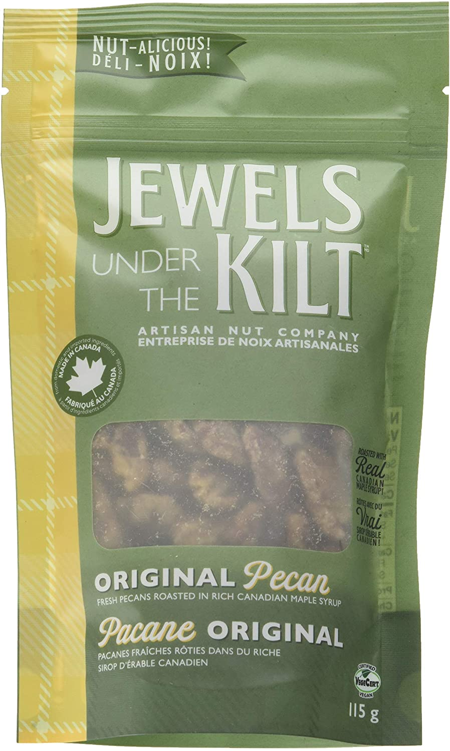 JEWELS UNDER THE KILT - MAPLE PECAN - 115 G (4610649653299)
