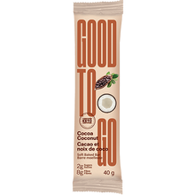 Load image into Gallery viewer, GOOD TO GO - COCOA COCONUT BAR - 40G (4611779330099)