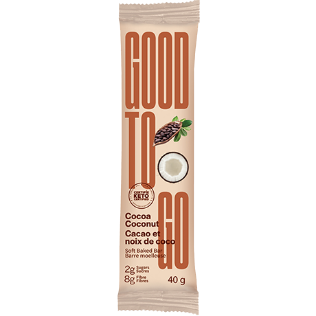GOOD TO GO - COCOA COCONUT BAR - 40G (4611779330099)