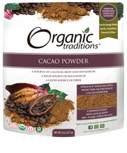 Load image into Gallery viewer, ORGANIC TRADITIONS - CACAO POWDER - 227G (4603665121331)