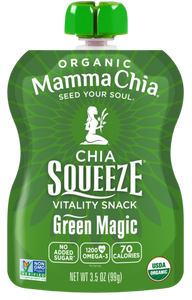 MAMMA CHIA SQUEEZE - GREEN MAGIC - 99G