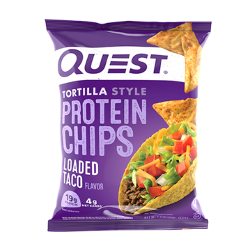 QUEST CHIPS - LOADED TACO - 18G (4611888545843)