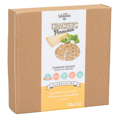 KZ CLEAN - PARMESAN CRACKERS - 200G (4602831568947)