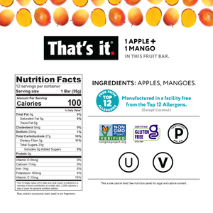 THAT'S IT APPLE AND MANGO BAR - 35G (4651982651443)