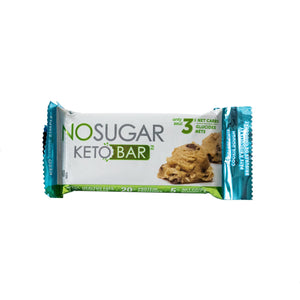 VEGANPURE - KETO BAR - CHOCOLATE CHIP COOKIE DOUGH - 40G (4611745677363)
