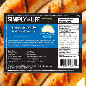 SIMPLY FOR LIFE SAUSAGES - BREAKFAST - 400G (4617076768819)