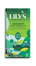 Load image into Gallery viewer, LILY'S DARK CHOCOLATE - COCONUT -85G (4610824699955)