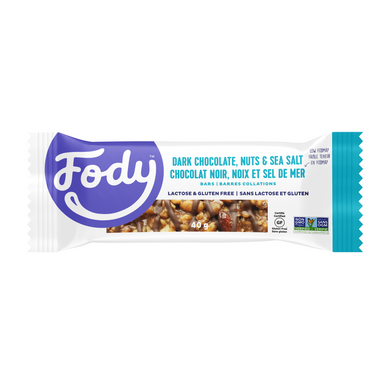 FODY - DARK CHOCOLATE & SEA SALT BAR - 40G (4604767371315)