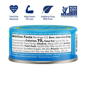 SAFECATCH - ELITE WILD TUNA - 142G (4618061971507)