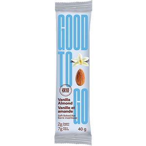 GOOD TO GO - VANILLA ALMOND BAR - 40G (4611781034035)