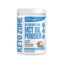 Load image into Gallery viewer, KETOZONE - MCT OIL POWDER - COCONUT CREAM - 300G (4604567781427)