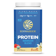 Load image into Gallery viewer, SUNWARRIOR - VEGAN WARRIOR BLEN PROTIEN - VANILLA - 750G (4610806743091)