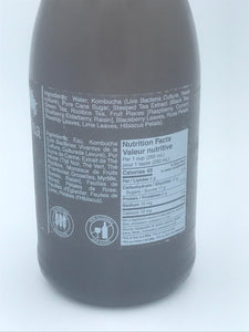 CATHY'S KOMBUCHA - RASPBERRY - 750ML (4612827381811)