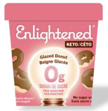 Load image into Gallery viewer, ENLIGHTENED KETO ICE CREAM - GLAZED DONUT - 473ML
