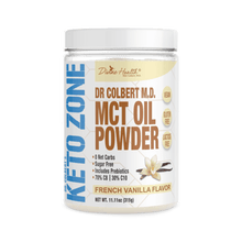 Load image into Gallery viewer, KETOZONE - MCT OIL POWDER - FRENCH VANILLA - 300G (4604565782579)